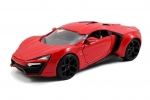 97377 2014 Lykan Hypersport Fast and Furious 7 red 1:24