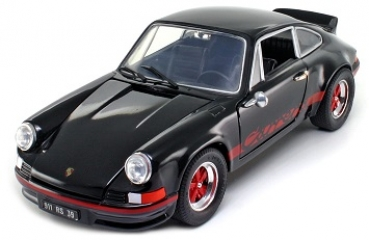 18044BK Porsche 911 Carrera RS 1973 black/red 1:18