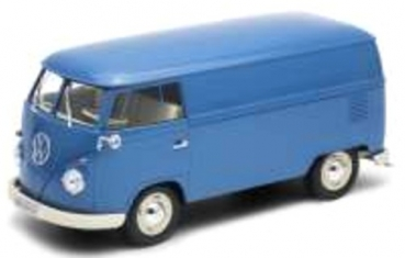 18053B VW T1 box wagon blue 1963 1:18