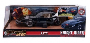 253255000 Pontiac Firebird Knightrider KITT with Working Lights on the Front Hood 1982 1:24
