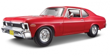 31132R CHEVROLET NOVA SS COUPE 1970 Red 1:18