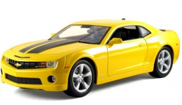 31173Y CHEVROLET CAMARO SS RS 2010 yellow 1:18