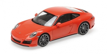 410067241 PORSCHE 911 (991.2) CARRERA 4S – 2017 – ORANGE 1:43