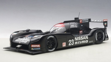 81577 NISSAN GT-R NISMO LM 2015 TEST CAR 1:18