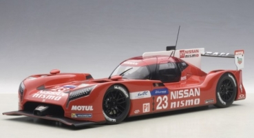 81578 NISSAN GT-R NISMO LM 2015 PLA/MARDENBOROUGH/CHILTON #23 1:18