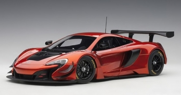 81642 McLAREN 650S GT3 (VOLCANO ORANGE/BLACK ACCENTS) 1:18