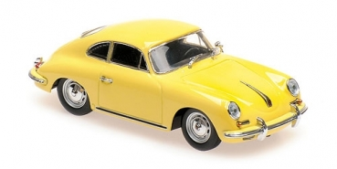 940064300 PORSCHE 356 B COUPE – 1961 – YELLOW 1:43