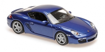 940065621 PORSCHE CAYMAN S - 2005 - BLUE METALLIC 1:43
