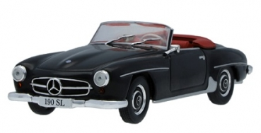 B66041053 Mercedes-Benz 190 SL W 121 (1955-1963) Black 1:43