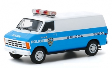 86577  1987 Dodge Ram B250 Van - New York City Police Dept (NYPD) 1:43