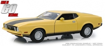 12910 Gone in Sixty Seconds (1974) - 1973 Ford Mustang Mach 1 Eleanor 1:18