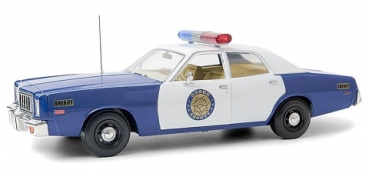 19096  1975 Plymouth Fury - Osage County Sheriff 1:18