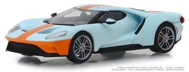 86158  2019 Ford GT - Ford GT Heritage Edition - Gulf Oil Color Scheme 1:43