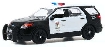 86587 The Rookie (2018-Current TV Series) - 2013 Ford Police Interceptor Utility - Los Angeles Police Department (LAPD) 1:43
