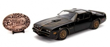30998  1977 Pontiac Trans Am Firebird Smokey & the Bandit & Diecast Replica Buckle 1:24