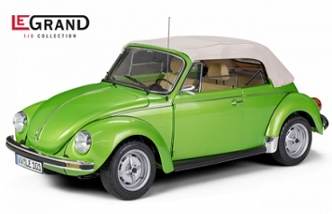 LE101 VW Käfer Cabrio 1303 vipern green metallic - Limited Edition 500 pcs. 1:8
