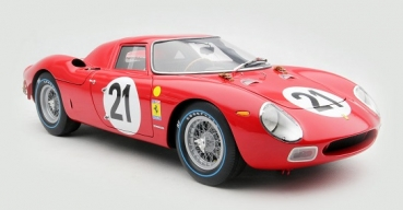 M5902 Ferrari 250 LM  Winner 24 Hours of Le Mans 1965 #21 driven by M.GREGORY/J.RINDT 1:18