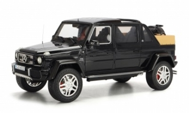 0177 Mercedes-Maybach G650 Landaulet, black 1:18