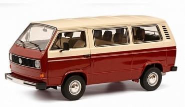 0381 VW T3a Bus red/creme 1:18