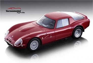 TM1865A Alfa Romeo Guilia TZ2 Press Version red 1965 - Limited Edition 100 pcs. 1:18