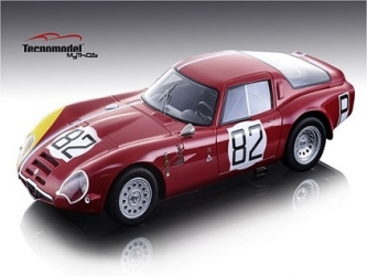 TM1865D Alfa Romeo Guilia TZ2 1000 KM Nürburgring 1967 #82 Driven by: Serge Trosch/Teddy Pilette - Limited Edition 100 pcs.	1:18
