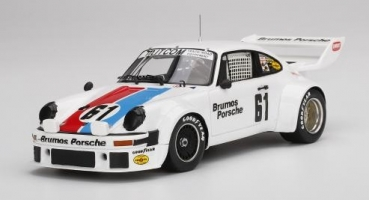 TS0300 Porsche 934/5 #61 1977 Sebring 12 Hrs. 3rd Place Brumos Racing Driven by: Jim Busby/Peter Gregg 1:18