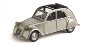 23300 Citroen 2CV Open Roof grey 1:43