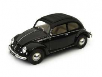18040BK VW Käfer 1950 Brezelfenster, black 1:18
