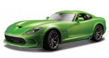 31128G DODGE VIPER GTR 2013 SRT green 1:18