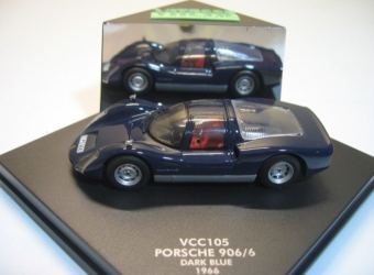 VCC105 PORSCHE 906/6 COUPE 1966 BLUE 1:43