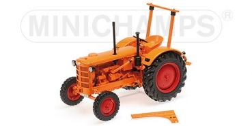 109153072 HANOMAG R28 - FARM TRACTOR - 1953 - ORANGE 1:18