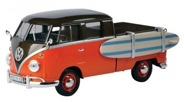 79560 VW T1 PICK UP WITH SURFBOARD 1:24