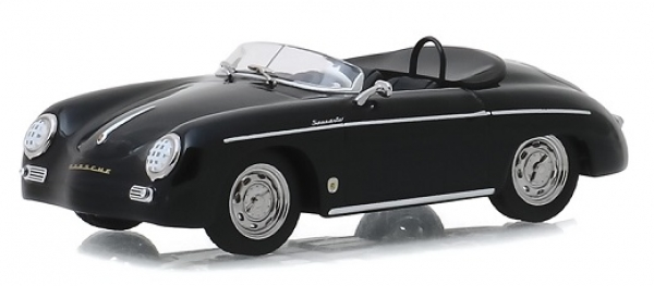 86539 Steve McQueen Collection (1930-80) - 1958 Porsche 356 Speedster Super (Restored, Top-Up) 1:43