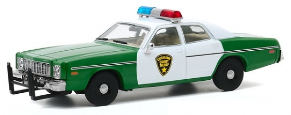 86595  1975 Plymouth Fury - Chickasaw County Sheriff 1:43