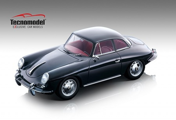 TM18143A  Porsche 356 Karmann Hardtop 1961 dark grey 1:18