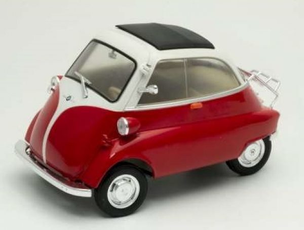 24096R  BMW Isetta 250 red/white	1:18